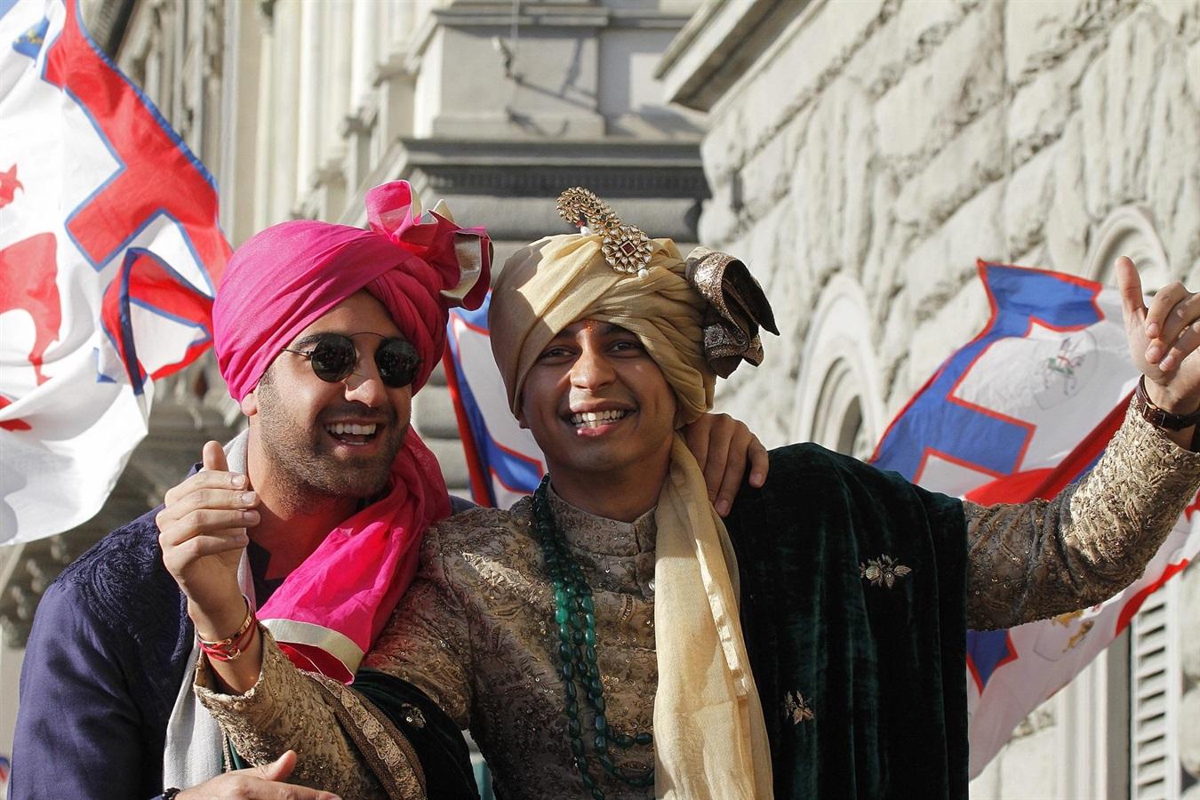 Nozze indiane: Firenze 'invasa' da musica