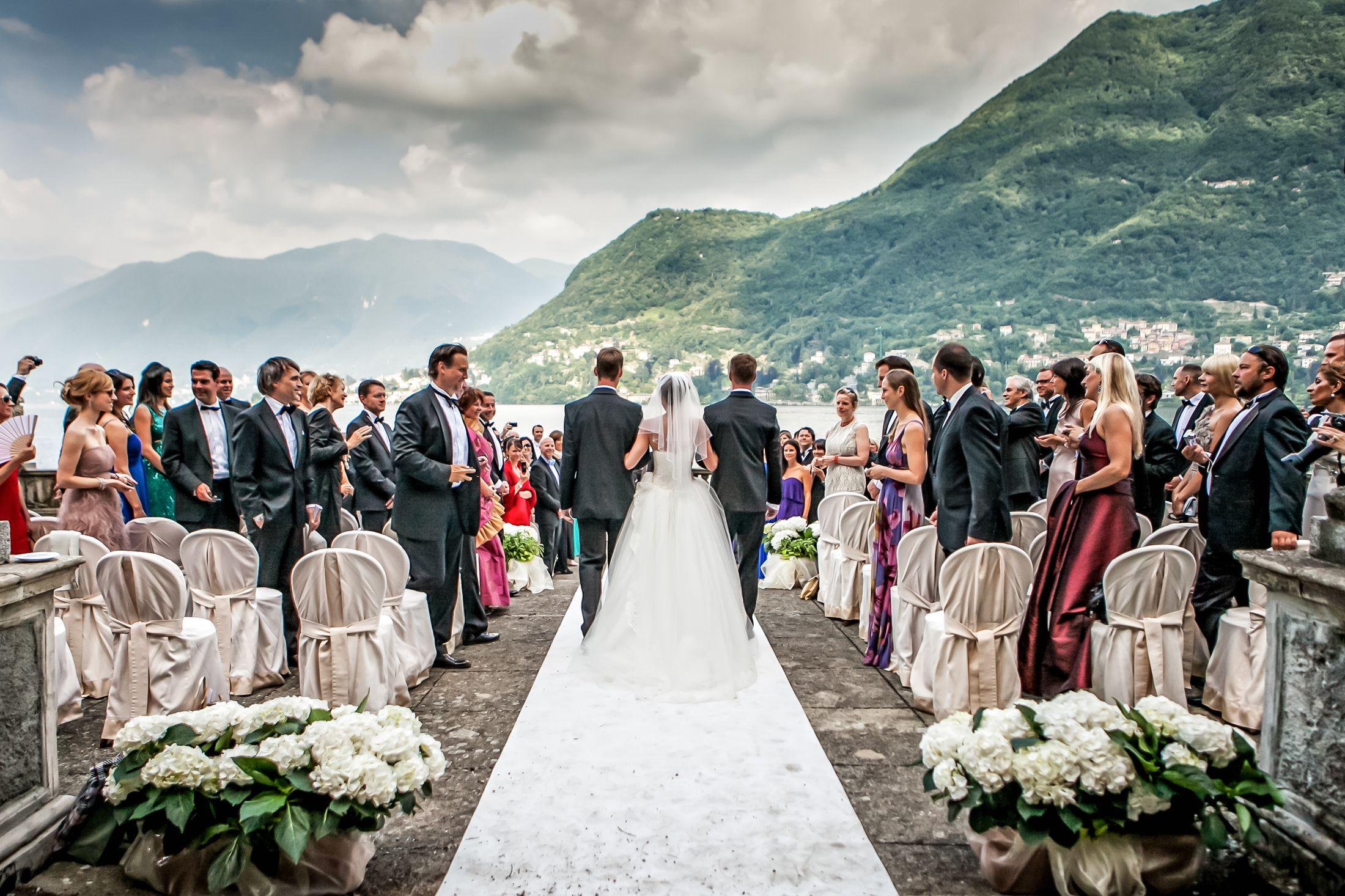 Matrimonio da favola, i turisti scelgono l'Italia