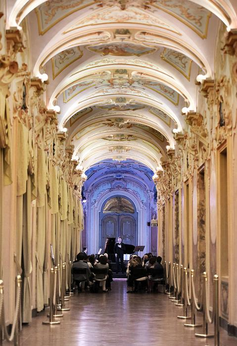 (ANSA) - JESI (AN), 1 PAR - Arte: Palazzo Pianetti a Jesi. +++ NO SALES, EDITORIAL USE ONLY +++