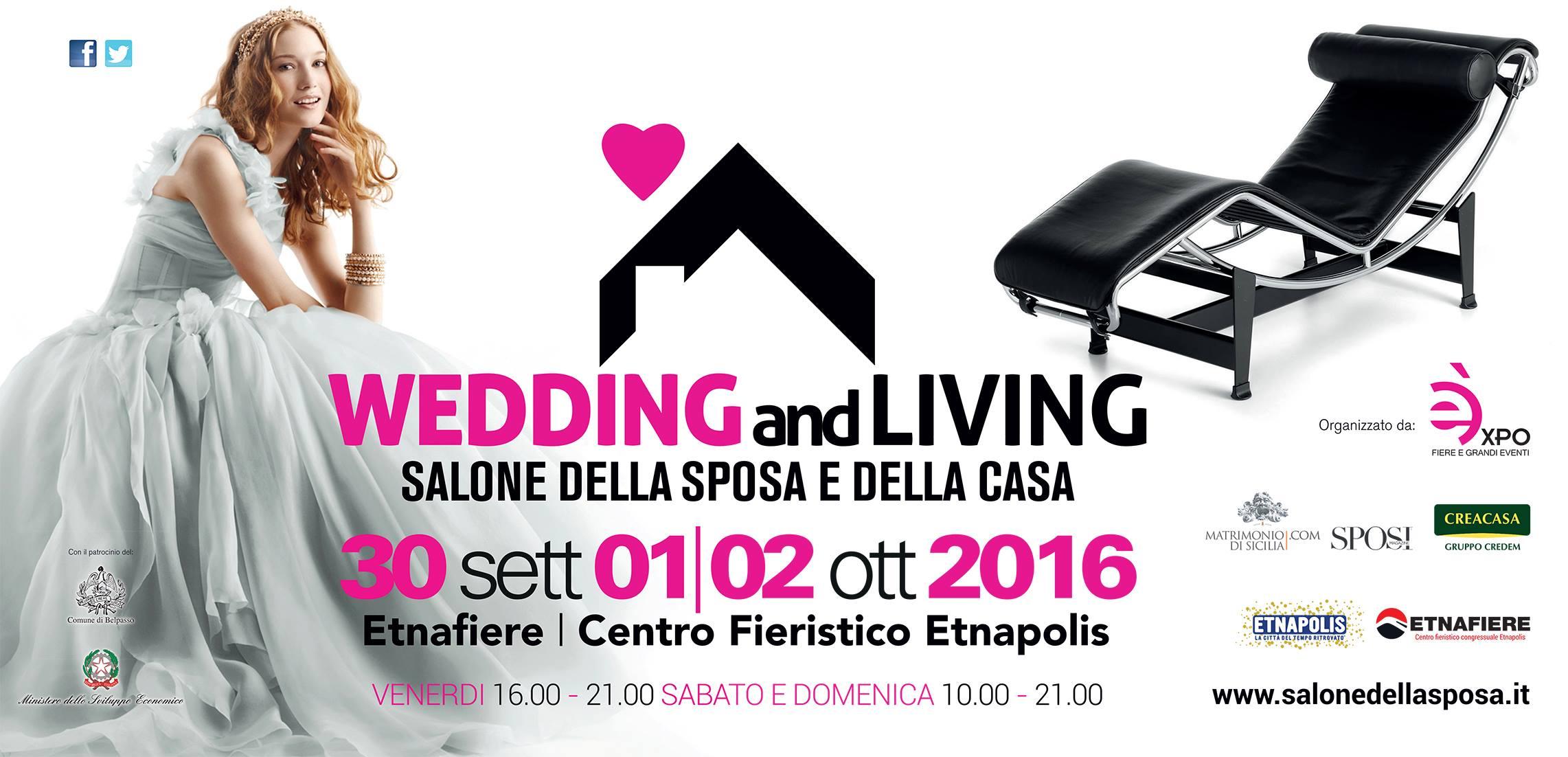 WEDDING AND LIVING – Salone della Sposa e della Casa in Sicilia