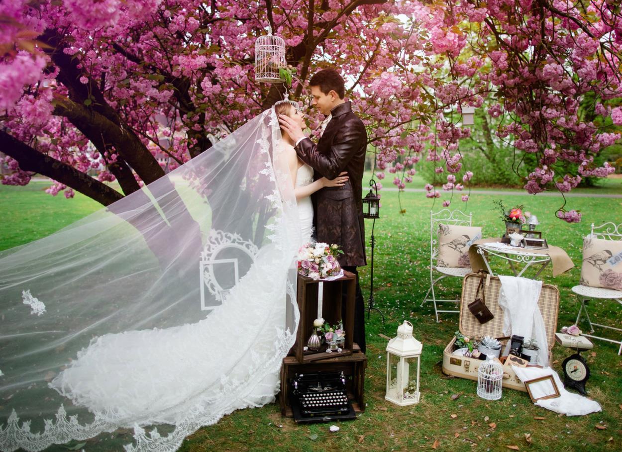 Matrimonio primaverile. Fiori, colori e profumi di un matrimonio in primavera
